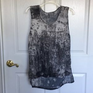 Sheer H&M Divided tank top